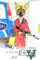 Fred the fan of GTA V by Levvvar