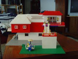 funky house by legochick08
