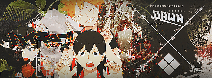 Hinata and Kageyama by ZeLin789