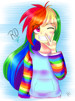 ::Rainbow Dash:: by DrawCraft123