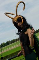 Lady Loki Cosplay by ricominciare