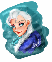 Elsa  05-03-2014 by Luciand29