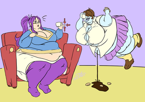 Commission: Chesia And Heather by Idle-Minded