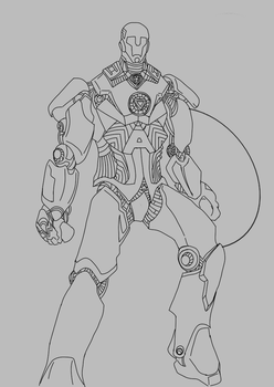 Revengers - Captain America (Unfinished) by SuprVillain