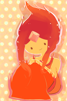 Flame Princess by Butterscotch-Ribbion