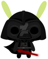 darth bunny by michpolainas