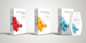Dermozinc Shampoo Packaging by grafiket
