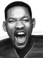 Will Smith - iPad painting by Olechka01