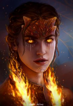 Fire godlike by AnnaHelme