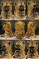 Realistic spotted hyena mask! by Crystumes