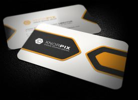Info Business Card by xnOrpix