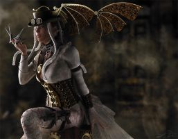 Queen - Steampunk - For Eve by cylithera