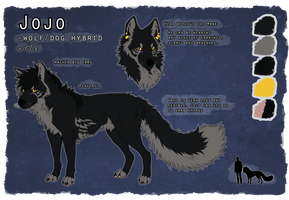 Jojo Reference Sheet 2014 by jamzenn