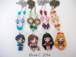Sailors necklaces by elvira-creations