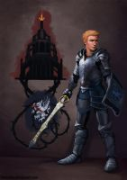 DA:O Heroes of the Fifth Blight: Alistair by Darantha