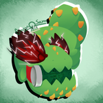 Angry Picklesaur by OmegaSam7890