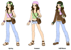 Pokemon Trainer Hotaru by tomboy-chan