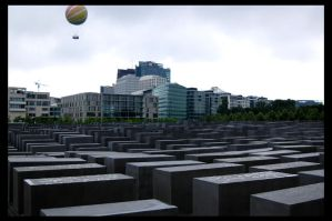 Holocaust Memorial by deadward1555