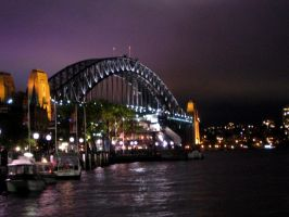 Sydney Harbour Bridge by chameleon09