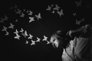 Shooting my butterflies by cxalena