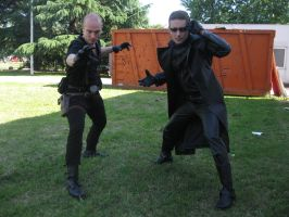 Resident Evil 7  Jake Muller and Albert Wesker by John-MacGyver