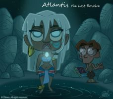 50 Chibis Disney : Atlantis by princekido