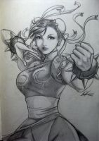 Chun Li - old sketch by TixieLix