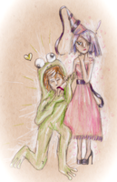 ventus and fuu (request from burningGlory) by sackofsquan