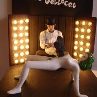 a clockwork orange diorama by SylviaDraw