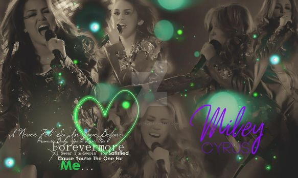 Wallpaper Miley Cyrus by JustInLoveTrue