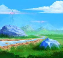 Green Valley by Euthmane