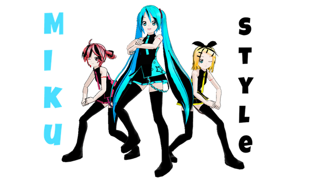 Miku Style by blossomxdexter4eva