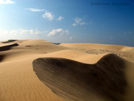 The White Sand Dunes by redfiretrees