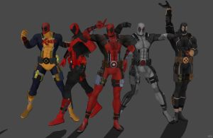'Deadpool' costume pack by lezisell