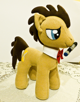 Doctor Whooves - Big plush! by mmmgaleryjka