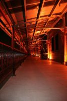 Flame Corridor by donut