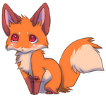 baby fox. by MATVEII