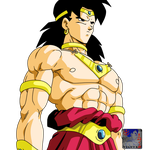 Broly .:Lineart40:. Color by PrinzVegeta