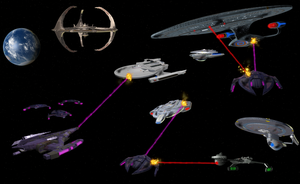 Battle of Deep Space Nine by enterprisedavid