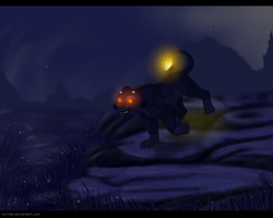 Walk after the midnight by Korrida