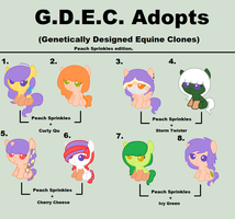 G.D.E.C. Adopts- PLEASE READ DESCRIPTION. by Ilovetoreadbooks