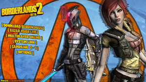 Borderlands 2 Beta - Custom Main menu by DecadeofSmackdownV3