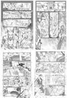 X-Men Legacy #4 Pencils by ZurdoM