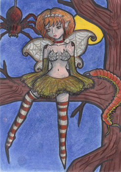 Faerie of Insects by JaclynTaargus