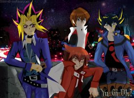 Bright Lights Big Duelists by broken-with-roses