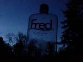 Fred in a Bottle by Seriridescence