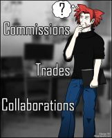 ? Commissions Trades and Collaborations by AWorger