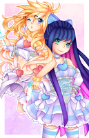 Panty And Stocking by noodlemonstah