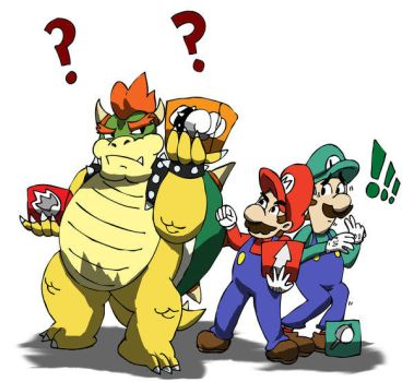GET SOME ACTION BOWSER by ISHOULDBEWORKING