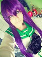 Saeko: why hello by BunnyRue
